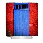 Portsmouth Door 6 Shower Curtain