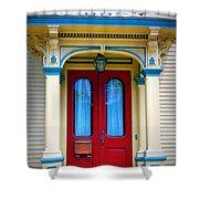 Portsmouth Door 7 Shower Curtain