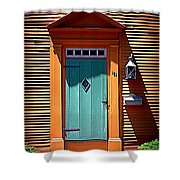 Portsmouth Door 8 Shower Curtain
