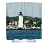 Portsmouth Nh Harbor Shower Curtain