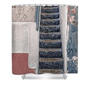 Portugese Steps Shower Curtain