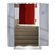 Portuguese Entrance Shower Curtain