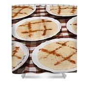 Portuguese Food Shower Curtain