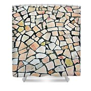 Portuguese Pavement Shower Curtain
