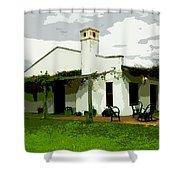 Posada De Laguna Lodge Shower Curtain