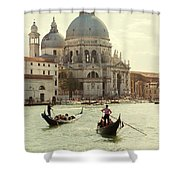 Postcard From Venice Shower Curtain