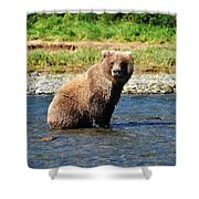 Posed Perfection Shower Curtain