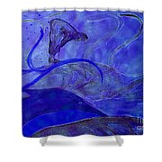 Poseidon Surf By Jrr Shower Curtain