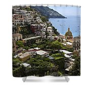 Positano Overview Shower Curtain