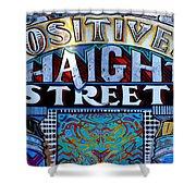 Positively Haight Street Shower Curtain