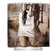 Possessed Shower Curtain