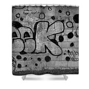 Post Cards From Puerto Rico Iv Shower Curtain