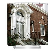 Post Office 38242 Shower Curtain