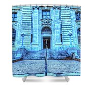 Post Office West Avenue Shower Curtain