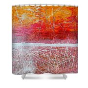Postcard From Everywhere Shower Curtain