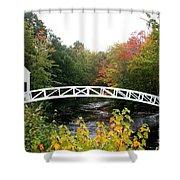 Postcard Idyll Shower Curtain