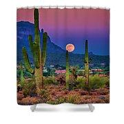 Postcard Perfect Arizona Shower Curtain