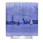 Postcard Perfection Shower Curtain