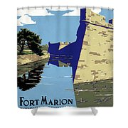 Poster National Park Shower Curtain
