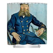 Postman Joseph Roulin Shower Curtain