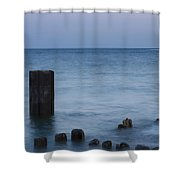 Posts Shower Curtain