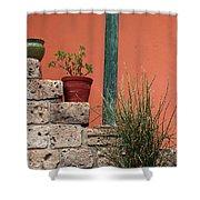Pot Plants Shower Curtain