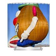 Potato Head Balloon Shower Curtain