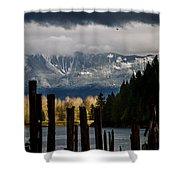 Potential - Landscape Photography Shower Curtain