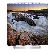 Potomac Rush Shower Curtain