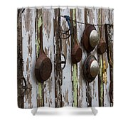 Pots And Pans Shower Curtain