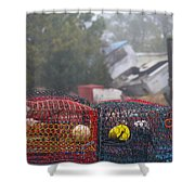 Pots On The Dock Shower Curtain