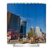 Potsdamer Platz Shower Curtain