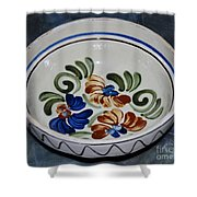 Pottery - Flower Pot Shower Curtain