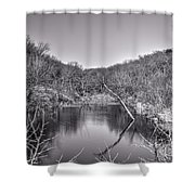 Pouders Pond 2 Shower Curtain
