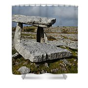Poulanbrone Tomb Shower Curtain