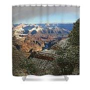 Powder Coated Canyon Shower Curtain