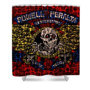 Powell Peralta Shower Curtain
