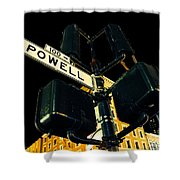 Powell Street Shower Curtain