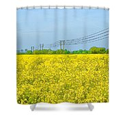 Power Lines In Innsworth Shower Curtain