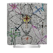 Power Of The Cross Shower Curtain