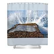 Power Of The Sea Shower Curtain