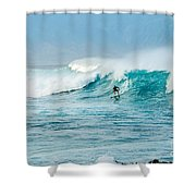Power Thru Shower Curtain