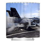 Power To Burn Shower Curtain