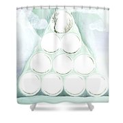 Power To Move Mountains Shower Curtain