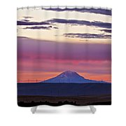 Powerful Sunset Shower Curtain