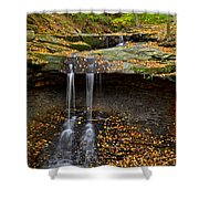 Powerful Trickle Shower Curtain