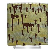 Powerful Wind Shower Curtain