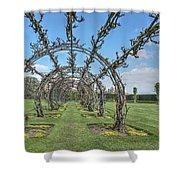 Powis Castle Garden Shower Curtain