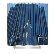 Ppg Place Pittsburgh Shower Curtain