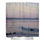 pr 240-Evening Sunset Shower Curtain